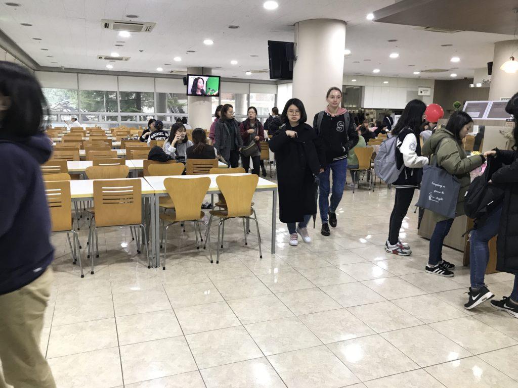 ソウル女子大 学食 シャロム