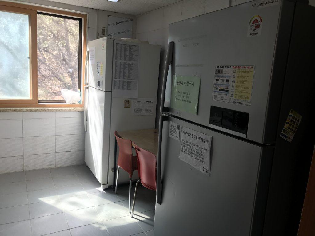 寄宿舎 キッチン