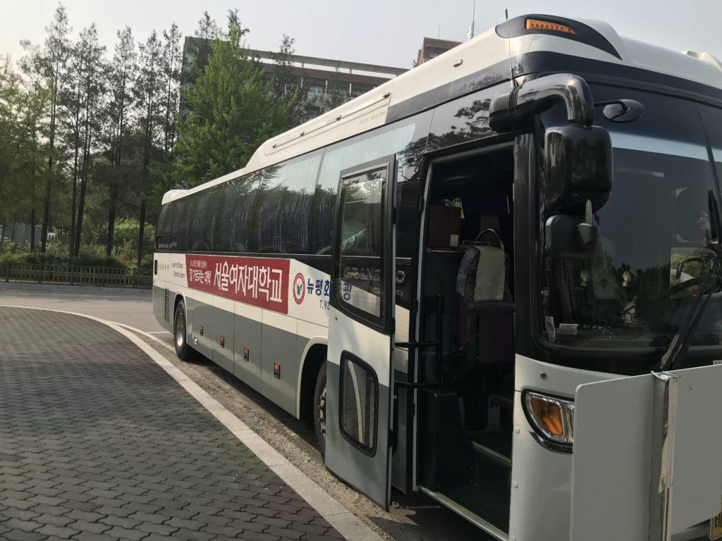 ソウル女子大学シャトルバス