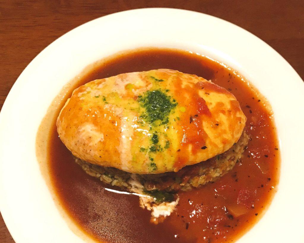 Bg-Cafe ジェノバオムライス bgカフェ