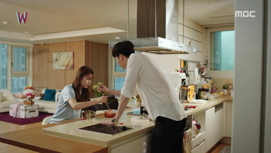 韓国ドラマ W-君と僕の世界-